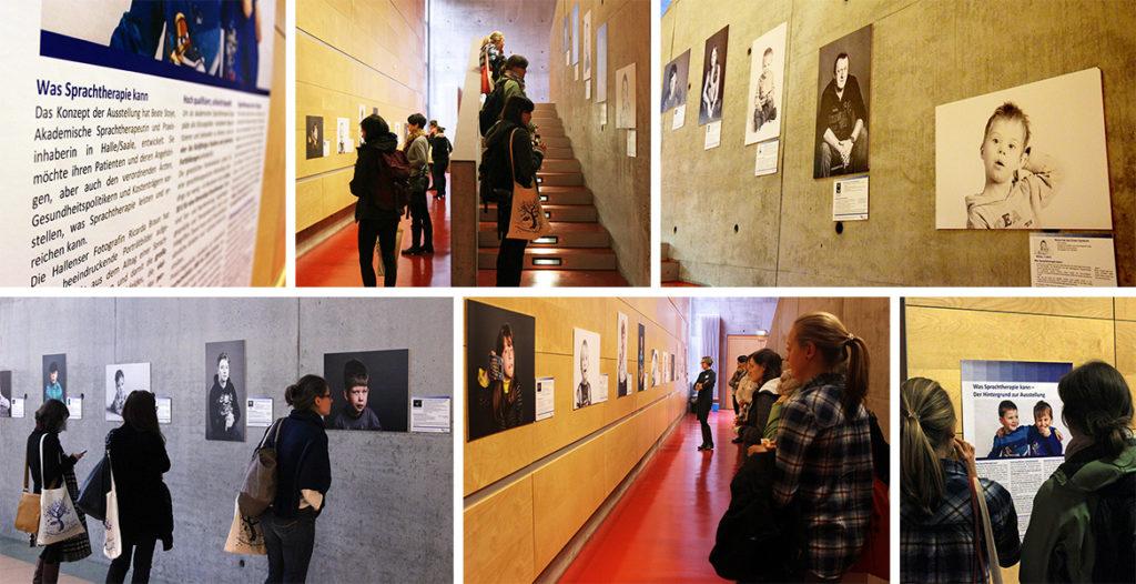 Foto Eindrücke von der dbs-Ausstellung »Was Sprachtherapie kann«