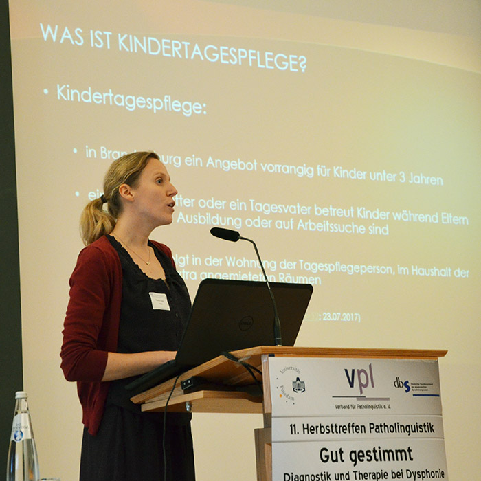 Vortrag von Theresa Förster