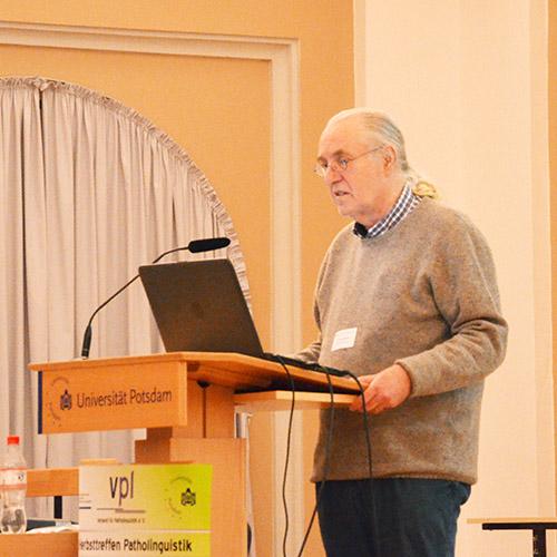 Andreas Starke beim Vortrag